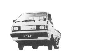 Toyota Liteace Truck SINGLE 750KG 2000 DIESEL DX 1992 г.