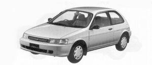 Toyota Corolla II WINDY 4WD 1992 г.