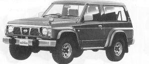 Nissan Safari WAGON HARD TOP GRAN ROAD 4200 DIESEL 1992 г.