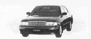 Toyota Crown 4DOOR H/T 1992 г.