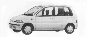 Mitsubishi Minica 5DOOR G 1992 г.