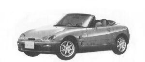 Suzuki Cappuccino  1992 г.