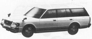 TOYOTA CROWN 1992 г.