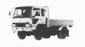 Mitsubishi Fighter 4WD 3.75T 1992 г.