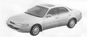 Toyota Corolla Ceres X TYPE 1992 г.