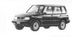 Suzuki Escudo NOMADE 1992 г.