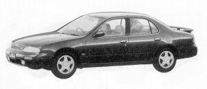 Nissan Bluebird 2000SSS-G 1992 г.