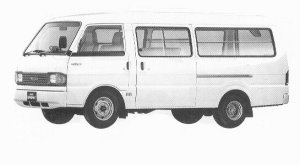 Mazda Bongo BRAWNY VAN WIDE LOW LONG BODY 2000 DX 1992 г.