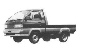 Toyota Liteace Truck SUPER SINGLE 750KG 1500 1992 г.