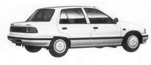 Daihatsu Charade SG LIMITED 1992 г.