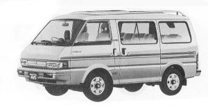 Mazda Ford Spectron 4WD 2000 XL-T 1992 г.