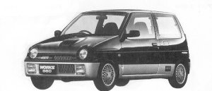 Suzuki Alto Works RS/X 1992 г.