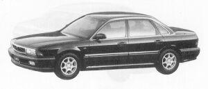 Mitsubishi Sigma 30R-S 1992 г.