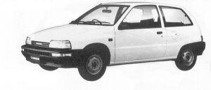 Daihatsu Charade TD 3DOOR 1992 г.