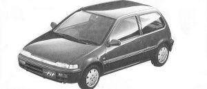 Honda City FIT CE 1992 г.