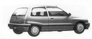Daihatsu Charade KISSA 1.0 3DOOR 1992 г.