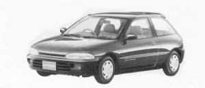 Mitsubishi Mirage 3DOOR X 1992 г.