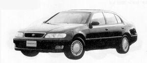 Toyota Aristo 3.0Q 1992 г.