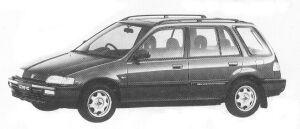 Honda Civic Shuttle RTI (4WD) 1992 г.