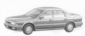 Mitsubishi Sigma 20E 1992 г.