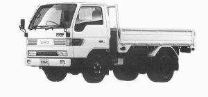 Mazda Titan 2T STANDARD 3.5L 4WD 1992 г.