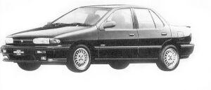 Isuzu Gemini SEDAN 1600DOHC ZZ HANDLING 1992 г.