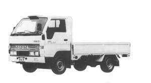 Toyota Dyna SUPER SINGLE J/L 1.5T DIESEL 1992 г.
