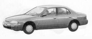 Nissan Bluebird 1800SSS-V 1992 г.