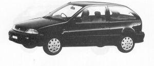 Suzuki Cultus 1000 F 1992 г.