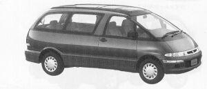 Toyota Estima Emina X FULL TIME 4WD 2200 DIESEL TURBO 1992 г.