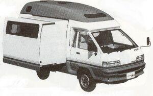 Toyota Liteace CAMPUS 1992 г.