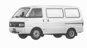 Mazda Bongo VAN WIDE LOW RUOTE VAN 2000DE 5DOOR DX 1992 г.