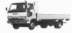 Hino Ranger FC 4.25T 1992 г.