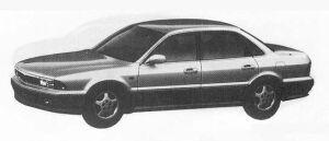Mitsubishi Sigma 25V 4WD 1990 г.