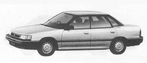 Subaru Legacy 4DOOR SEDAN 1.8L Ei 1990 г.