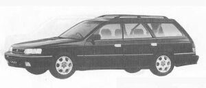 Subaru Legacy 4WD TOURING WAGON 2.0L GT 1990 г.