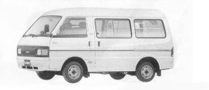 Mazda Bongo FULL WIDE LOW HIGH ROOF 2000 DIESEL LG 1990 г.