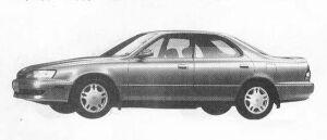 Toyota Camry Prominent 4DOOR 2000V6 1990 г.