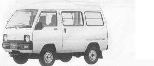 Mitsubishi Minicab VAN HIGH ROOF 4WD SUPER DELUXE 1990 г.