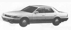 Nissan Laurel 24TWIN CAM TURBO MEDALIST CLUB L 1990 г.