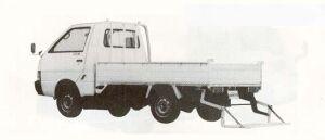 Nissan Vanette Truck LONG SUPER LOW GATE LIFT 1990 г.
