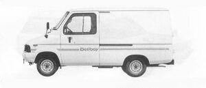 Toyota Deliboy 202 1990 г.
