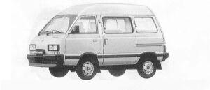 Subaru Domingo 1.0L CS 1990 г.