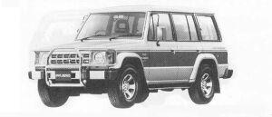 MITSUBISHI PAJERO 1990 г.