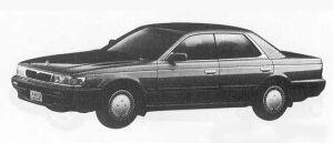 Nissan Laurel RB20 MEDAIST 1990 г.