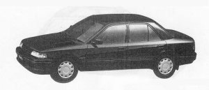 Mazda Familia 1500DOHC 16 VALVE INTER PLAY 1990 г.