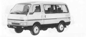 Isuzu Fargo WAGON 4WD LS TURBO DIESEL 1990 г.