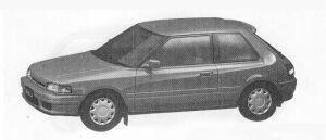 Mazda Familia 3DOOR HB 1500DOHC INTER PLAY 1990 г.