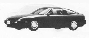 Nissan 180SX TYPE II SPECIAL SELECTION 1990 г.