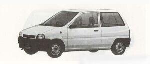 Subaru REX 3DOOR 1990 г.